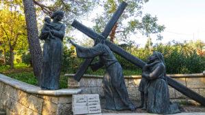 Gesù incontra alcune donne piangenti